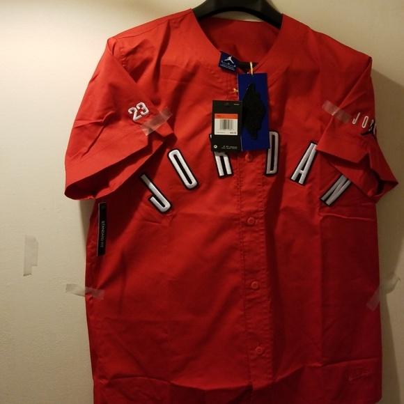 c6fcc6eb0a4 Jordan Shirts | Air Jordon Baseball Shirt | Poshmark